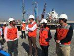 Ministro de Bienes Nacionales visita Ultraport y Puerto Angamos