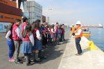 Alumnos de Colegio Bet-El visitan instalaciones de Puerto Antofagasta