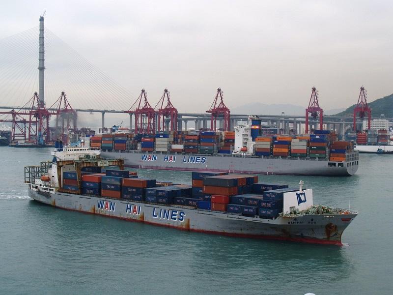 Wan Hai realiza pedido por 12 buques portacontenedores