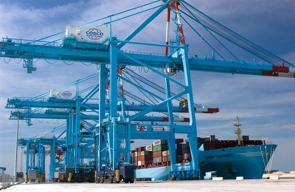 Rendimiento de Cosco Shipping Ports aumenta en 12% durante agosto