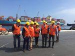 Delegación de Jujuy visita Puerto de Antofagasta para coordinar desembarques de piezas de planta solar
