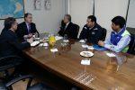 Puerto Arica y ASP-B se reúnen para abordar soluciones al cierre de puerto provocado por marejadas