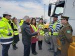 Colsa y Conaset realizan campaña de seguridad dirigida a transportistas de carga pesada