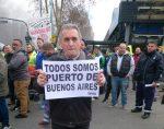 Unión Portuaria de Chile e IDC entregan respaldo a movimiento de estibadores del Puerto de Buenos Aires