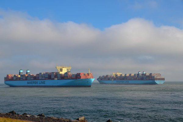 Maersk advierte posibles modificaciones a itinerarios de carga en puertos chinos por mal tiempo
