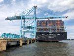 Puerto de Virginia establece récord de carga al inicio del año fiscal