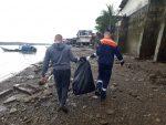 Colombia: Dirección General Marítima realiza limpieza en la ribera del río Guapi