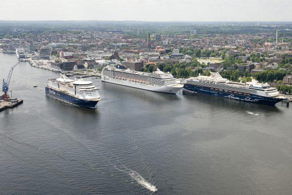 """Alemania: Estudio asegura que partículas contaminantes derivadas de cruceros son """"apenas detectables"""" en Puerto de Kiel"""