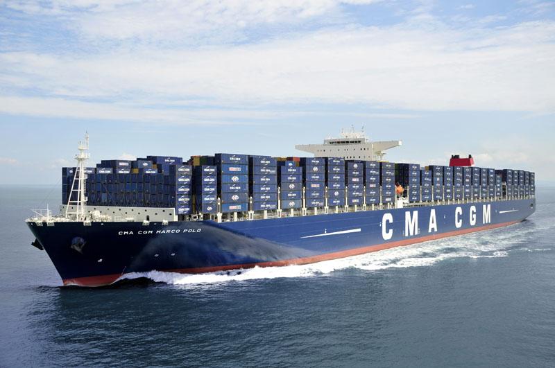 CMA CGM registra ganancias por 22.7 USD millones en el segundo trimestre