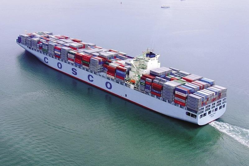 Cosco Shipping registra pérdidas por 23 USD millones en el primer semestre