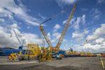 Escocia: Puerto de Grangemouth recibe nueva grúa STS de Liebherr