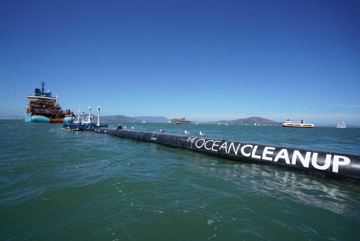ONU destaca puesta en marcha de sistema de limpieza para océanos de Ocean Cleanup