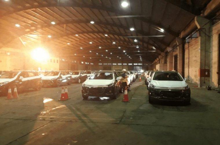 Brasil: Desembarcan 1.297 vehículos en el Puerto de Itajaí