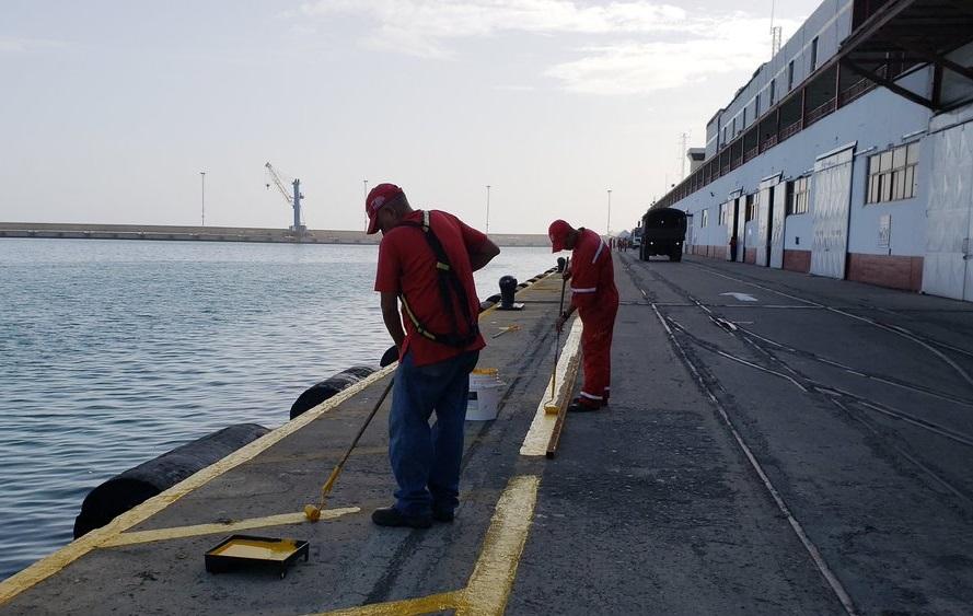 Venezuela: Ejecutan plan de mantenimientos y mejoras en Puerto de La Guaira