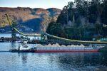 Nueva barcaza de Portuaria Corral realiza su viaje inaugural