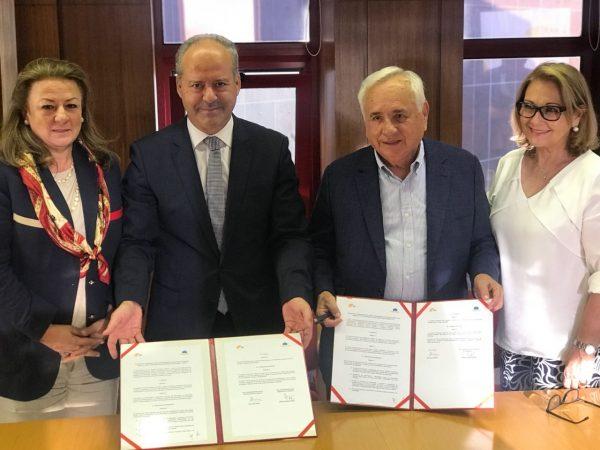 Grupo Puerto de Cartagena firma protocolo con dos puertos portugueses