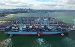 Australia: Puerto de Melbourne recibe recalada de buque de 8.063 TEUs