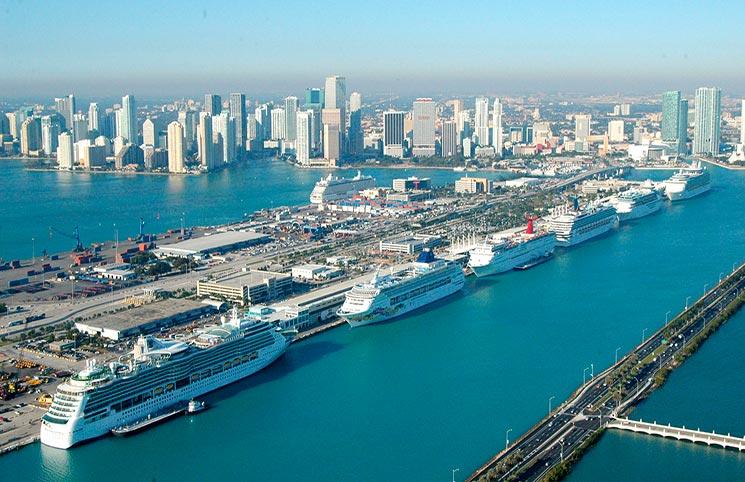 Puerto de Miami proyecta atender a 9 millones de pasajeros en 2024