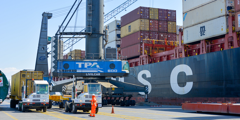 Exportaciones de Arica y Parinacota disminuyen 27,1% durante septiembre