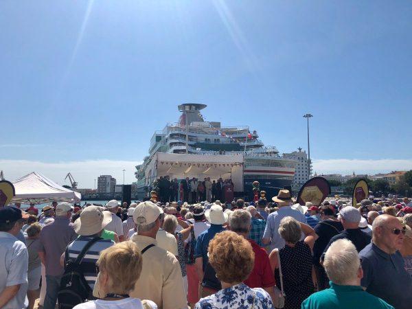 Puertos españoles reciben 5,3 millones de cruceristas hasta julio