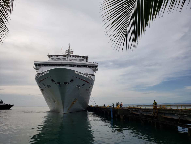 Costa Rica: Carnival Fantasy arriba al Puerto de Limón pese a huelga generalizada