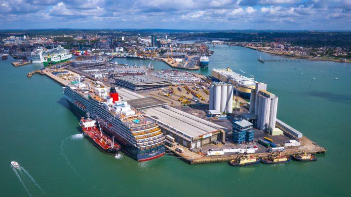 Reino Unido: Puerto de Southampton supera los 60 cruceros atendidos en agosto