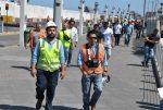 Iquique: 180 trabajadores de ITI evacúan terminal durante simulacro regional de terremoto y tsunami