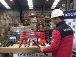 Aduanas decomisa 5.500 electroshock y 90 mil velas pirotécnicas en Puerto San Antonio