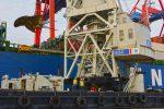 HHLA embarca desde Puerto de Hamburgo hélice de 110 toneladas para buque de 23.000 TEUs