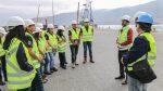 Puerto Iquique recibe visita de alumnos del Instituto del Mar