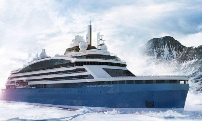 Ponant presenta su crucero rompehielos de expedición propulsado por GNL