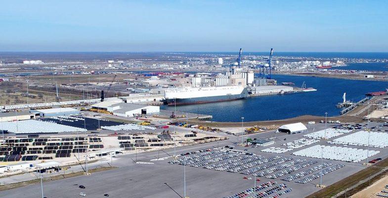 Port Freeport completa primera fase de transición a sistema de iluminación LED