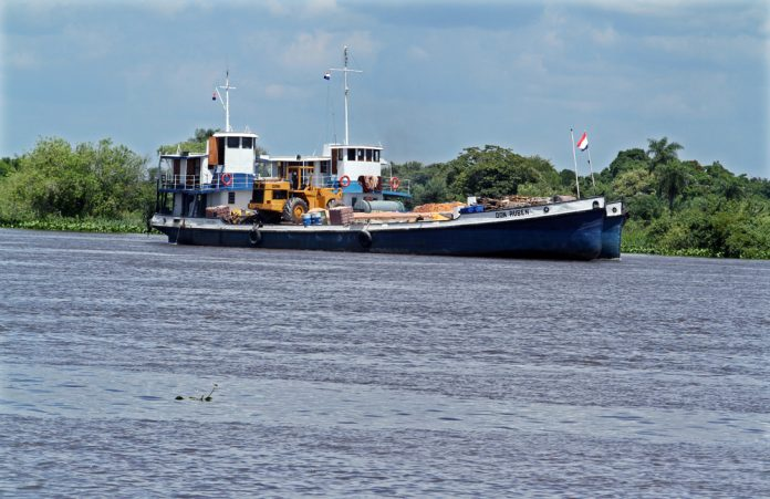 Cancillería paraguaya buscará aprobación de estudio para desarrollo de Hidrovía Paraguay-Paraná
