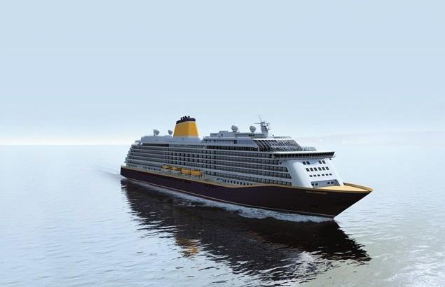 Saga Cruises bautizará a su nuevo crucero en el Puerto de Dover