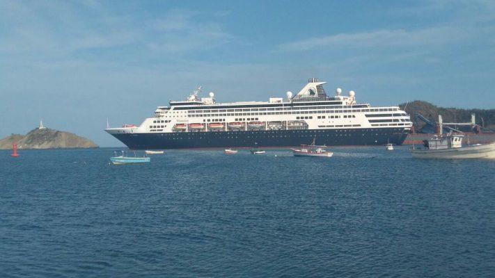 Colombia: Puerto de Santa Marta reactiva sus atenciones de cruceros con arribo del MS Massdam