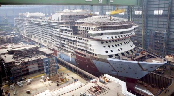 Spectrum of the Seas alcanza nuevo hito en su construcción