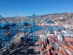 TPS finaliza armado de sus nuevas grúas pórtico Ship-to-Shore