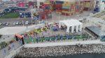 """Puerto de Iquique realiza su primer """"gran triatlón"""" con participación de 120 competidores"""