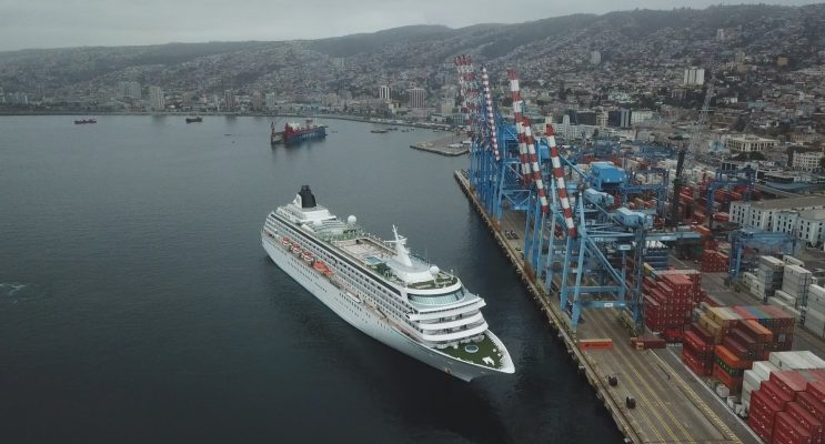 Puerto Valparaíso pone al Terminal de Pasajeros y muelle de cruceros como desafío para 2018/2019