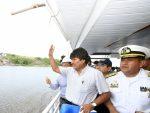 Evo Morales apunta a Puerto Busch como nuevo terminal para movilizar carga boliviana hacia el Atlántico