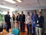 Puertos del Cono Sur y AGP sostienen reunión para potenciar la industria de cruceros de Chile y Argentina