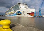AIDAnova abandonaría astillero Meyer Werft el próximo 8 de octubre