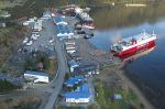Puerto Chacabuco logra disminuir los tiempos destinados a maniobras de naves mayores
