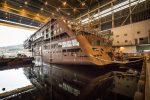Inician fase de construcción interior del crucero Hanseatic Nature