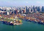 Puerto de Singapur totaliza 630 millones de toneladas transferidas en 2018