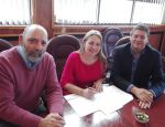 Empormontt firma convenio de colaboración con Escuela de Básquetbol Puerto Montt