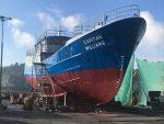 Realizan botadura del Buque de Instrucción Marítima Capitán Williams