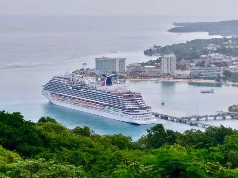 Jamaica: Carnival Horizon realiza escala inaugural en el puerto de cruceros de Ocho Ríos