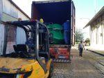 CARU recibe tercer envío de boyas para el balizamiento del Río Uruguay