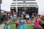 Así fue la apertura de la temporada de cruceros en Coquimbo